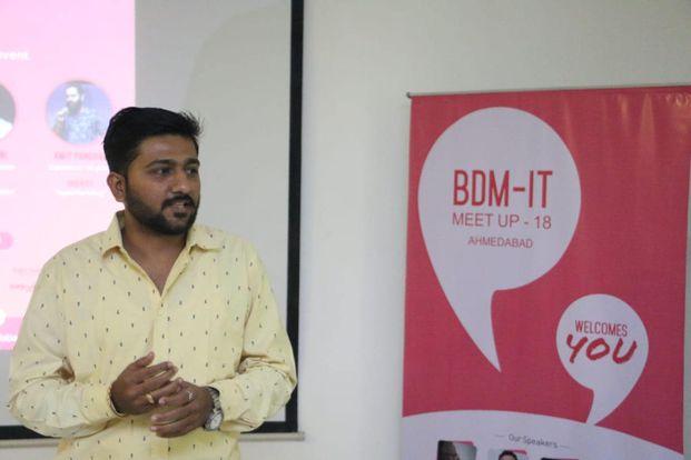 2018 BDM IT Meetup - Startup - Business Development & Sales Course - Sandeep Sisodiya - Ahmedabad - Gujarat - India